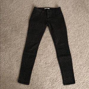 Bullhead leopard print skinny jeans